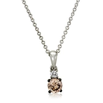 Le Vian 14ct Vanilla Gold Chocolate Diamond Pendant - Product number 4288793