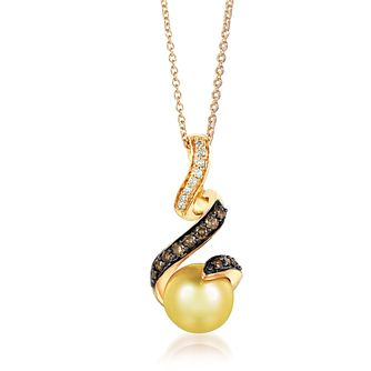 Le Vian 14ct Honey Gold Golden Pearl Pendant - Product number 4288815