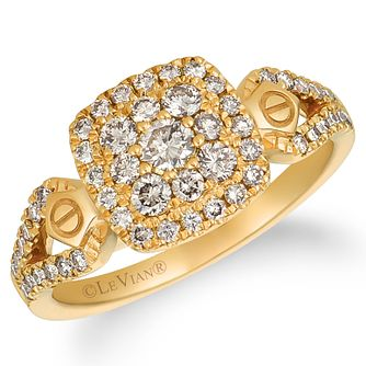 Le Vian 14ct Honey Gold Nude Diamond Ring - Product number 4289757