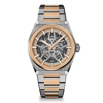 Zenith Defy Classic Men's Two Tone Bracelet Watch - Product number 4289951