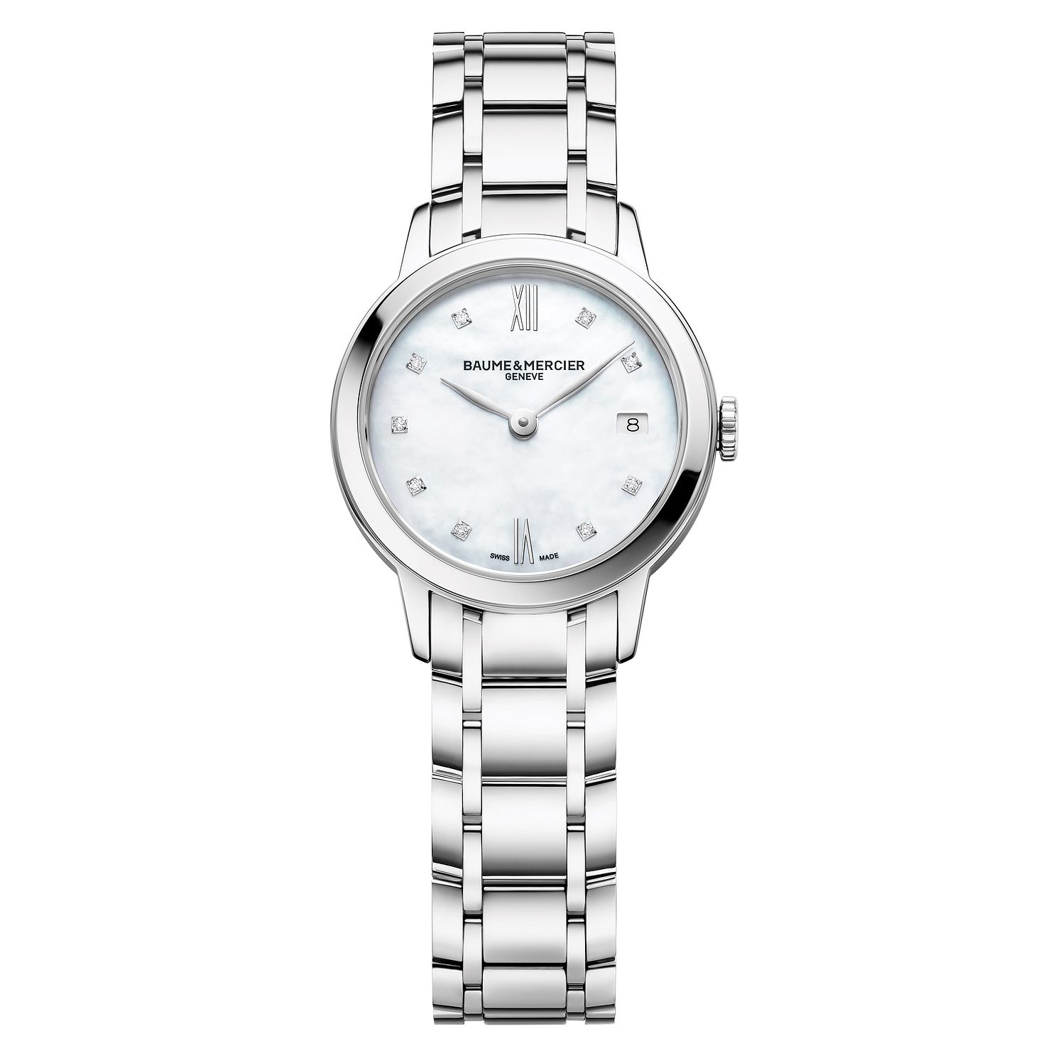 Baume & Mercier Classima Diamond Ladies' Bracelet Watch - Product number 4289978