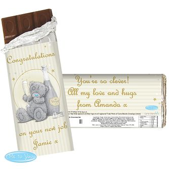 Personalsied Me To You Celebration Chocolate Bar - Product number 4290267
