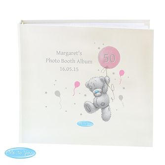 Personalised Me To You Pink Balloons Photo Album - Product number 4290976