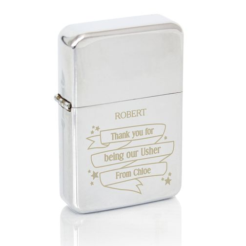 Engraved Shining Star Lighter - Product number 4295900
