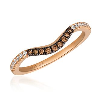 Le Vian 14ct Rose Gold 0.19ct Chocolate Diamond Ring - Product number 4296850