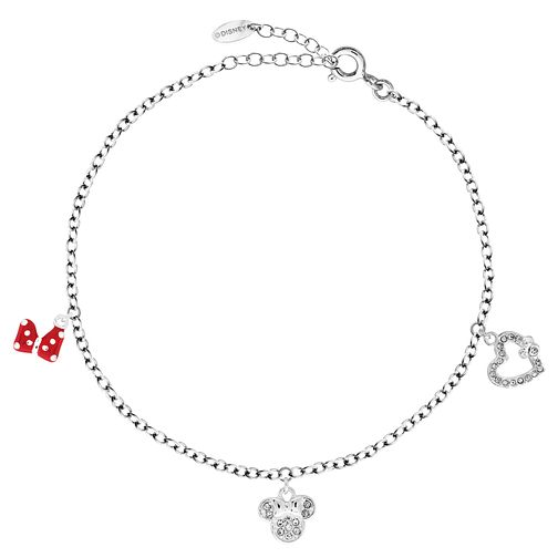 Bodifine Disney Minnie Mouse Crystal Anklet - Product number 4300785