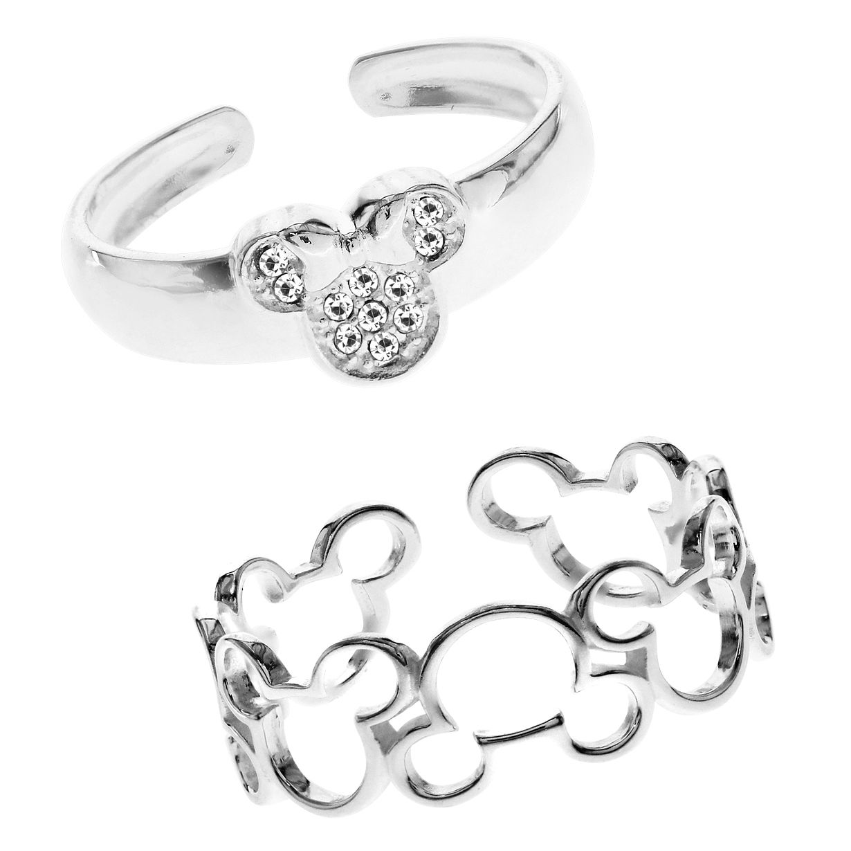 Bodifine Disney Mickey Mouse Toe Ring Set - Product number 4300858