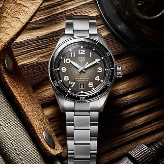 TAG Heuer Autavia Isograph Stainless Steel Bracelet Watch - Product number 4306856