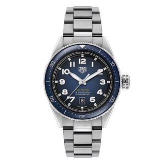 TAG Heuer Autavia Isograph Stainless Steel Bracelet Watch - Product number 4307062