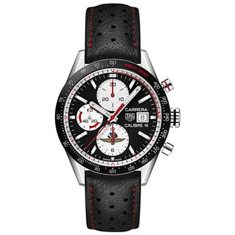 TAG Heuer Limited Edition Carrera Men's Black Strap Watch - Product number 4307194