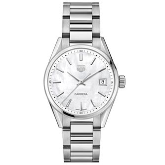 TAG Heuer Carrera Ladies' Stainless Steel Bracelet Watch - Product number 4307216