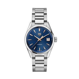 TAG Heuer Carrera Ladies' Stainless Steel Bracelet Watch - Product number 4307224