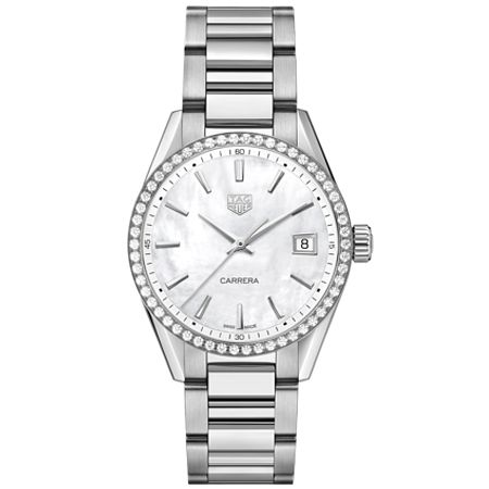 TAG Heuer Carrera Diamond Ladies' Bracelet Watch - Product number 4307232