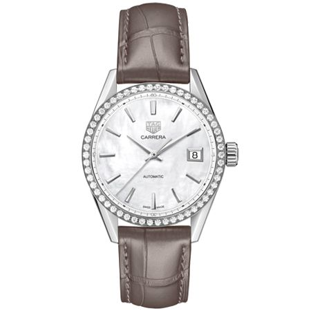 TAG Heuer Carrera Diamond Stainless Steel Bracelet Watch - Product number 4307267
