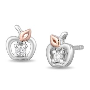 Enchanted Disney Fine Jewelry Diamond Snow White Earrings - Product number 4311361