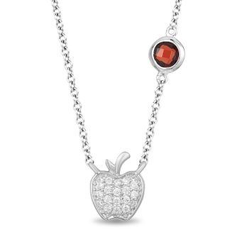 Enchanted Disney Fine Jewelry Diamond Snow White Pendant - Product number 4311930