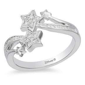 Enchanted Disney Fine Jewelry Diamond Tinker Bell Ring - Product number 4312600