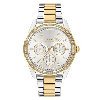 Coach Preston Ladies' Two Tone Bracelet Watch - Product number 4314875