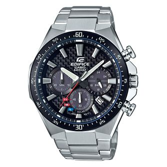 Casio Edifice Carbon Men's Black Bracelet Watch - Product number 4316851