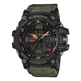 Casio Burton Men's Black Resin Strap Watch - Product number 4316916