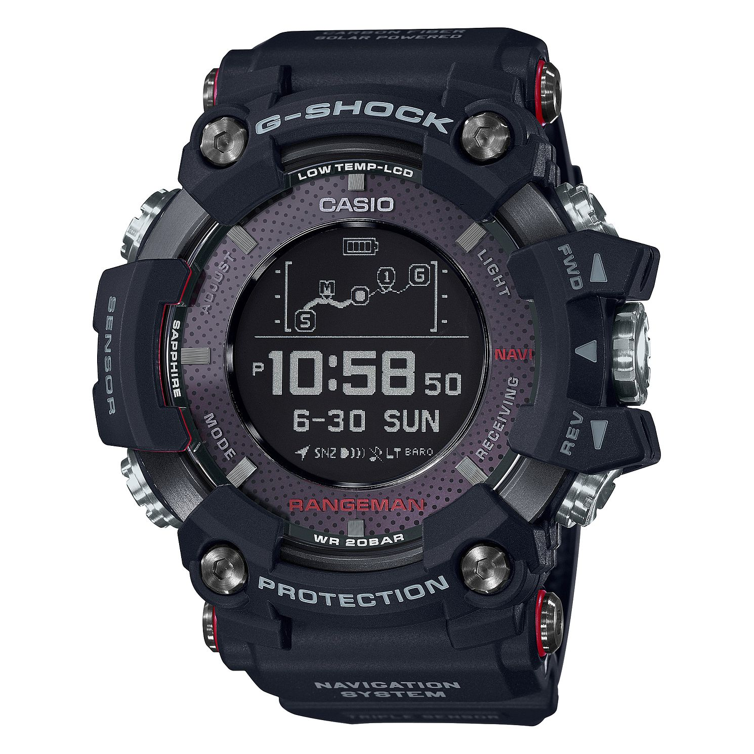 Casio G-Shock Rangeman Connected Watch   - Product number 4316924