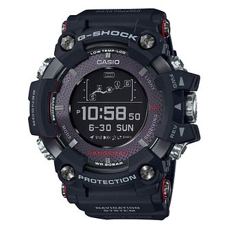 Casio Rangeman Men's Black Resin Strap Watch - Product number 4316924