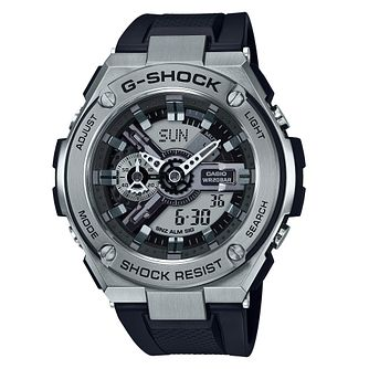 Casio G-Steel Men's Black Strap Watch - Product number 4316940