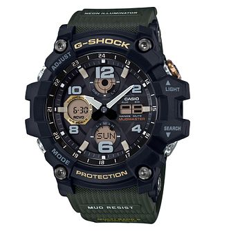 Casio Mudmaster Men's Black Resin Strap Watch - Product number 4316959