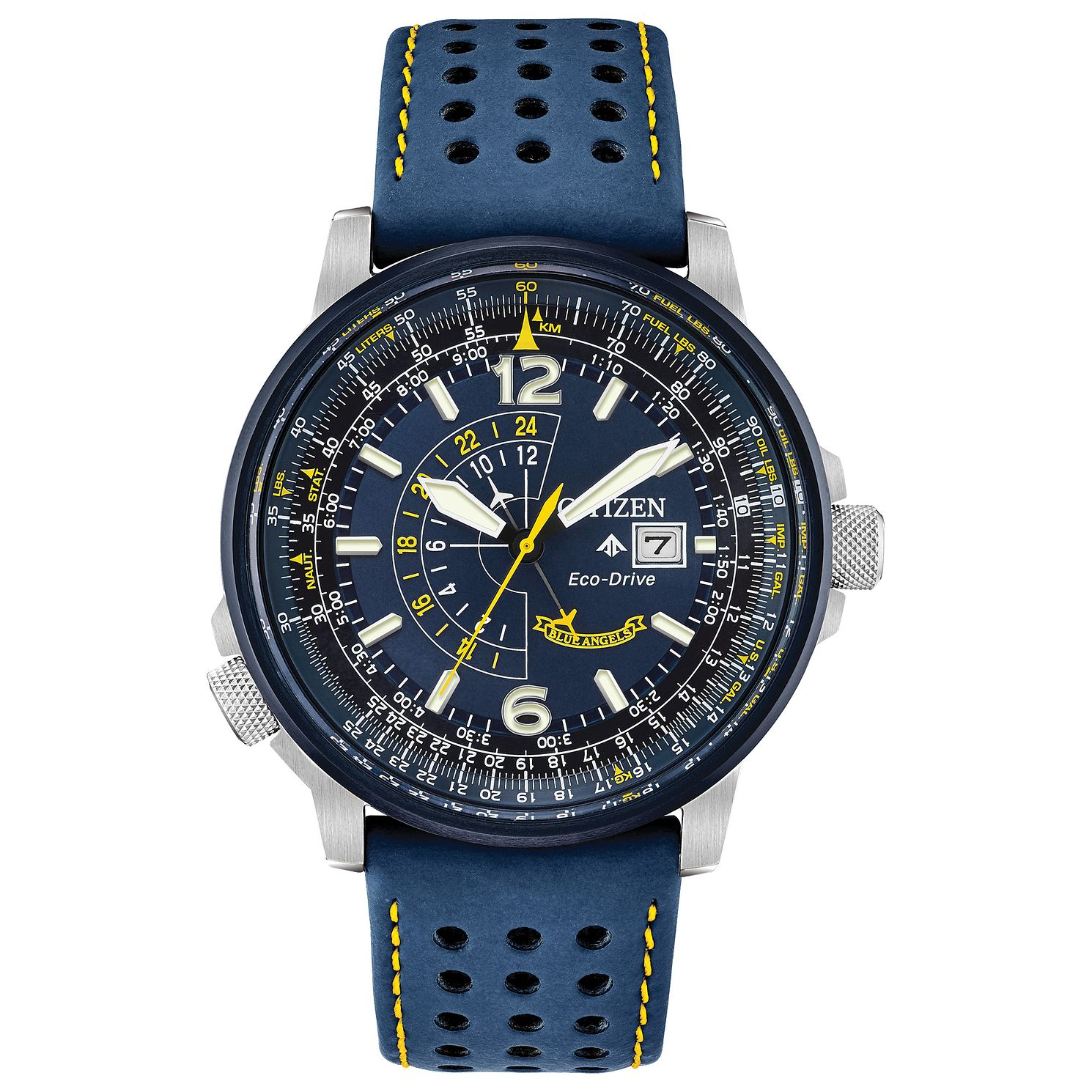 Citizen Eco Drive Men's Blue Strap Watch - Product number 4320727