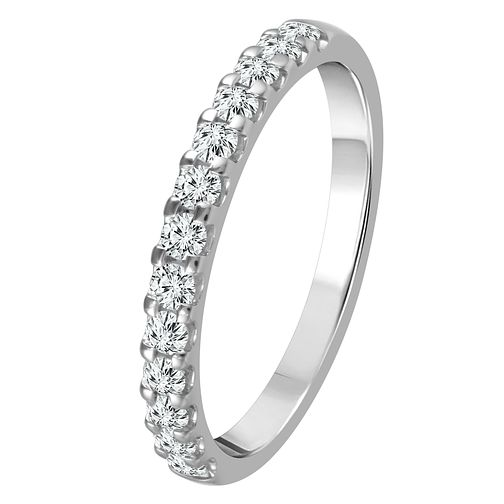 9ct White Gold 1/3ct Diamond Eternity Ring - Product number 4337506