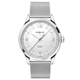 Montblanc Heritage Automatic Ladies' Mesh Bracelet Watch - Product number 4344707