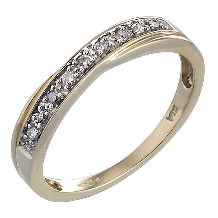 H Samuel Ct Gold Diamond Eternity Ring