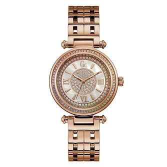 Gc Primechic Ladies' Rose Gold Tonel Bracelet Watch - Product number 4346203