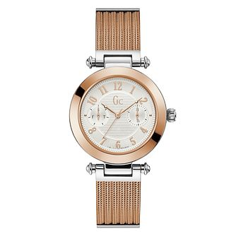 Gc Primechic Ladies' Two Tone Bracelet Watch - Product number 4346211