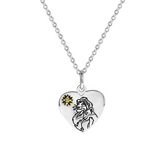 Disney Children's The Lion King Silver Heart Pendant - Product number 4346866