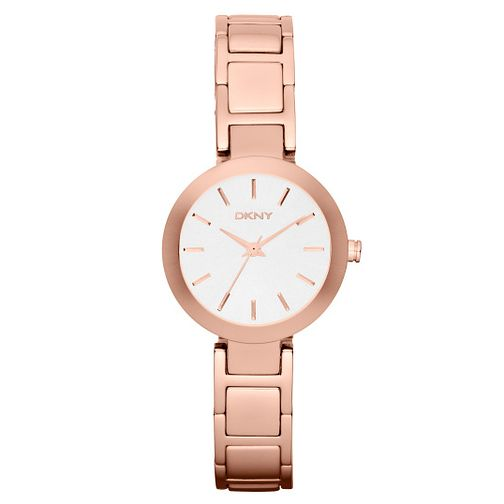 DKNY Stan Ladies' Rose Gold Tone Bracelet Watch - Product number 4347129