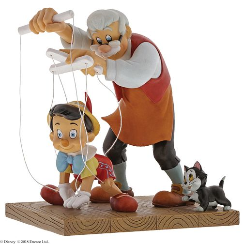 "Disney Enchanting ""Little Wooden Head"" Pinocchio Figurine - Product number 4347315"