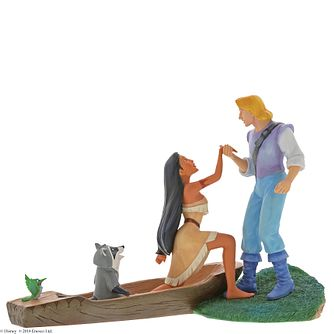 "Disney Enchanting ""Hear With Your Heart"" Pocahontas Figurine - Product number 4347331"