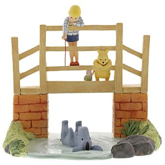 "Disney Enchanting ""Poohsticks"" Winnie The Pooh Figurine - Product number 4347412"