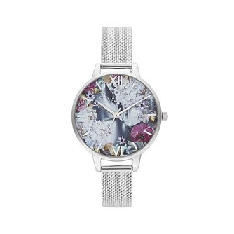 Olivia Burton Under The Sea Silver Mesh Bracelet Watch - Product number 4351339