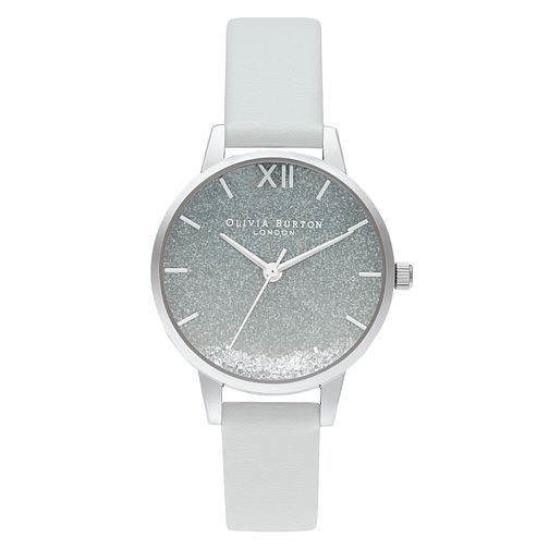 Olivia Burton Wishing Wave Eco-Friendly Grey Strap Watch - Product number 4351355