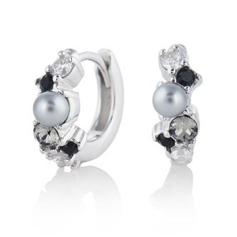 Olivia Burton Under The Sea Silver Tone Hoop Earrings - Product number 4351592