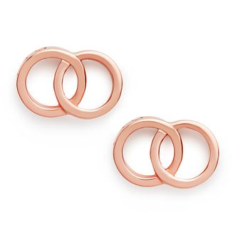 Olivia Burton Classics Interlink Rose Gold Tone Earrings - Product number 4351703