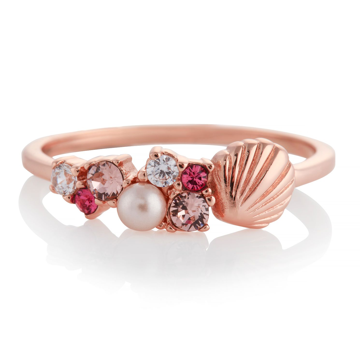Olivia Burton Under The Sea Shell Rose Gold Tone Large Ring - Product number 4352505