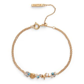 Olivia Burton Under The Sea Yellow Gold Tone Chain Bracelet - Product number 4352742