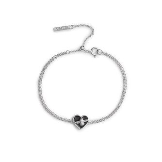 Olivia Burton Love Bug Rhodium Plated & Enamel Bracelet - Product number 4352785