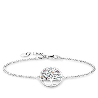 Thomas Sabo Tree Of Love 925 Sterling Silver Bracelet - Product number 4352998