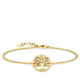 Thomas Sabo Tree Of Love Yellow Gold Plated Bracelet - Product number 4353005