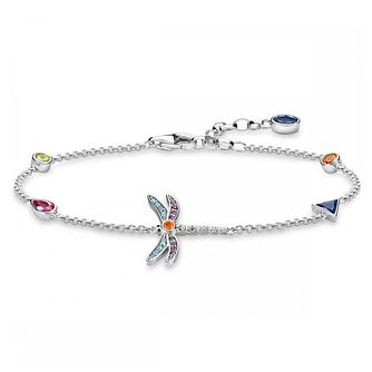 Thomas Sabo Paradise Dragonfly 925 Sterling Silver Bracelet - Product number 4353013