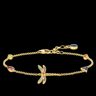 0357465df Thomas Sabo Paradise Dragonfly Yellow Gold Plated Bracelet - Product number  4353021